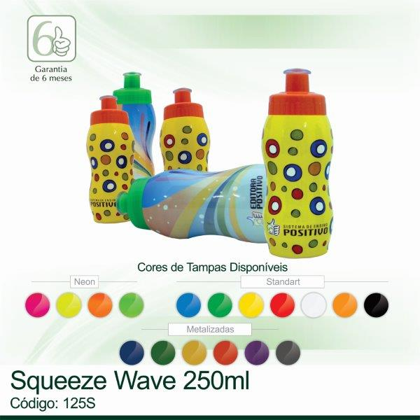 Squeeze plastico Wave 250ml